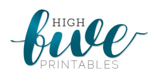 HighFivePrintables